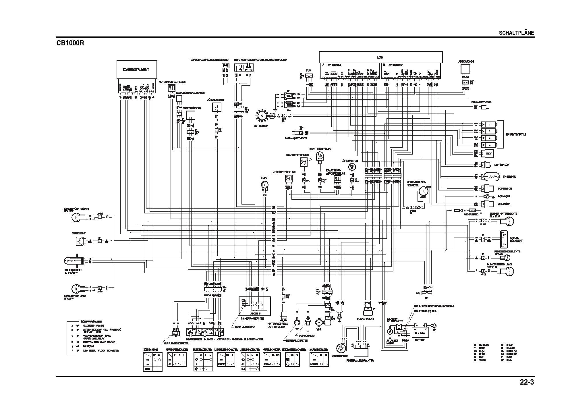 CB1000R wiring diagram | Honda CB1000R ForumHonda CB1000R Forum