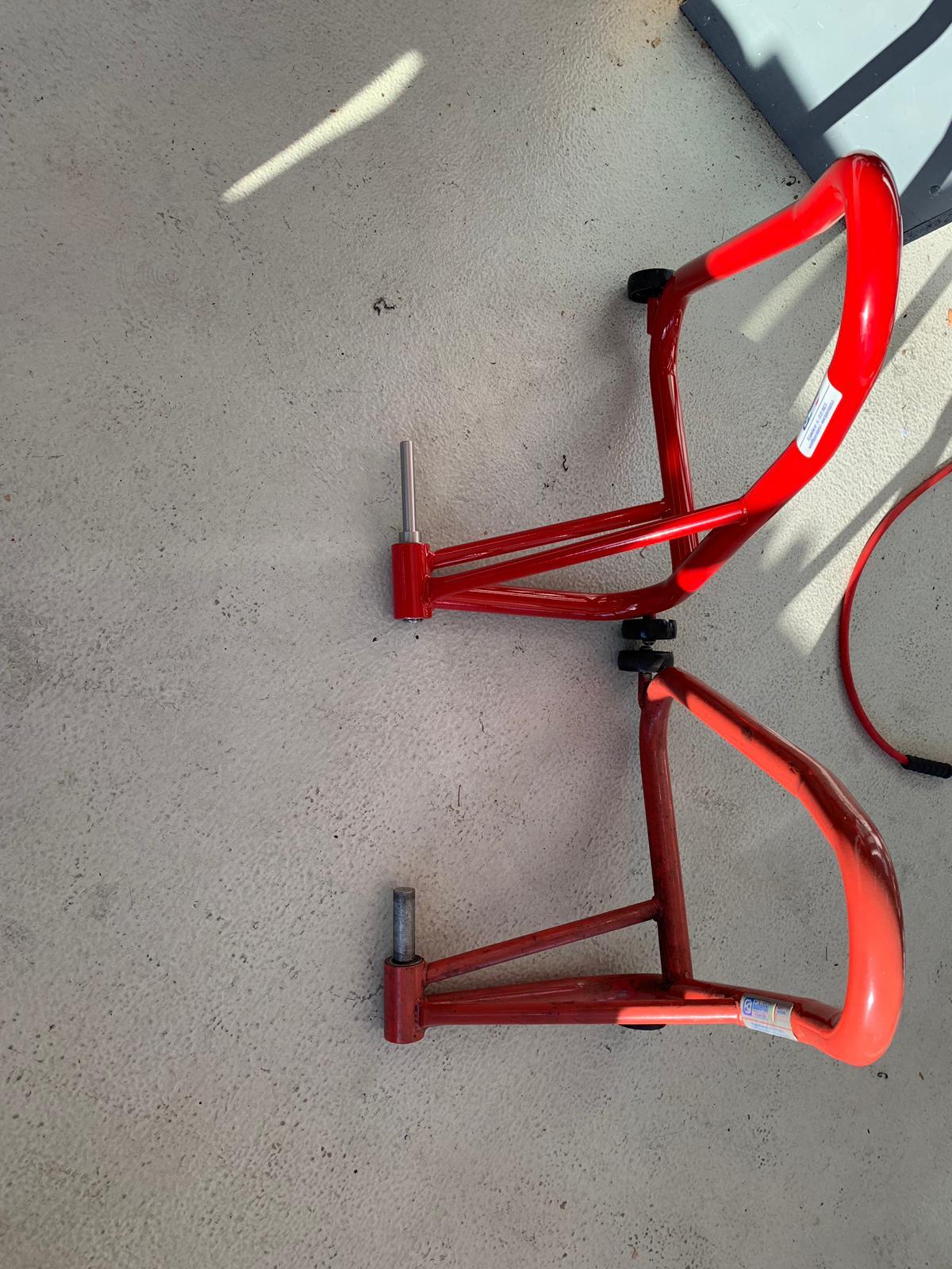 Chariot de d/éplacement pour Honda CB 1000 R ConStands Heavy Duty