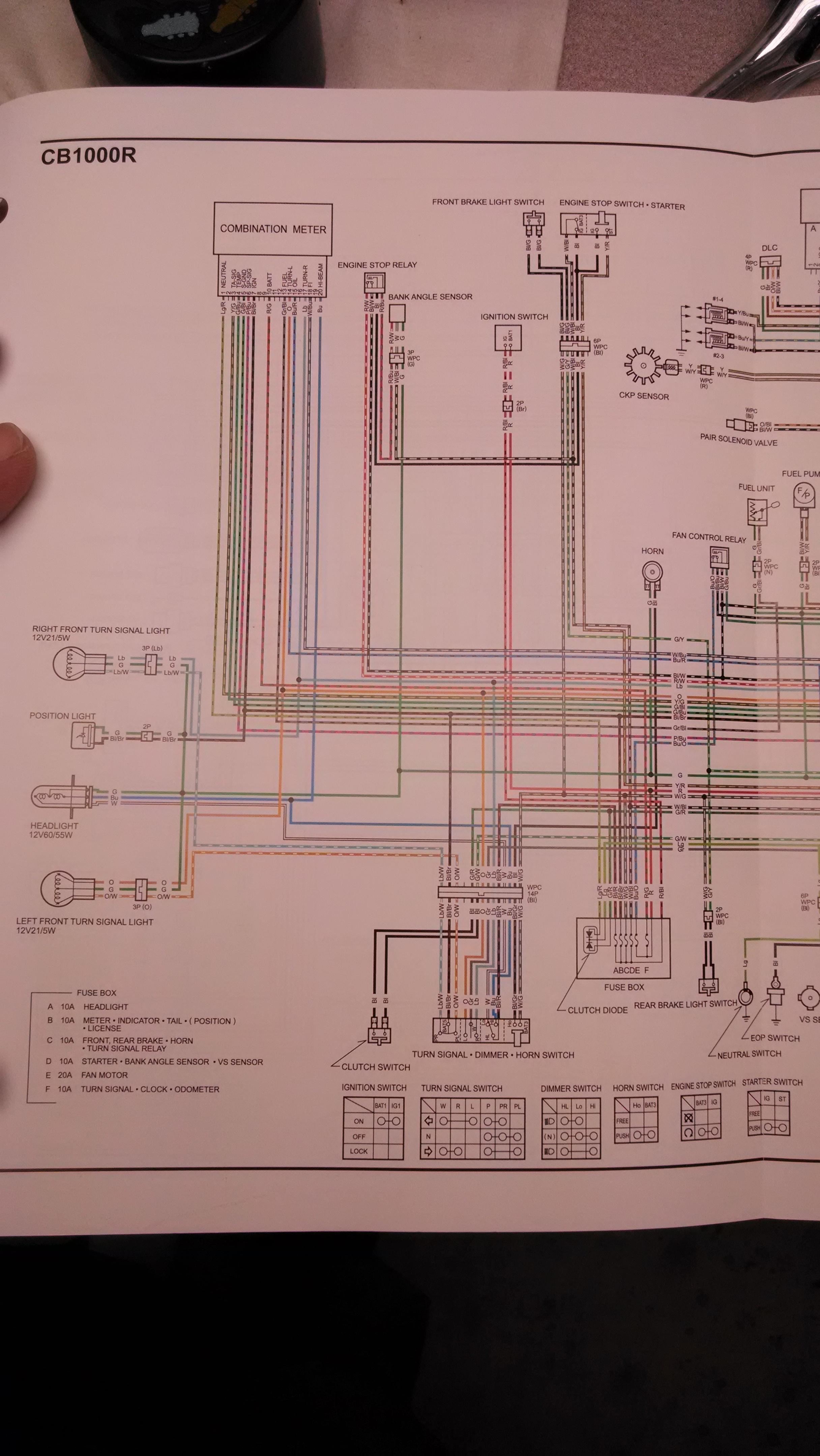 [SCHEMATICS_44OR]  CB1000R North American specific Wiring Diagram | Honda CB1000R Forum | Honda Cb1000 Wiring Diagram |  | Honda CB1000R Forum