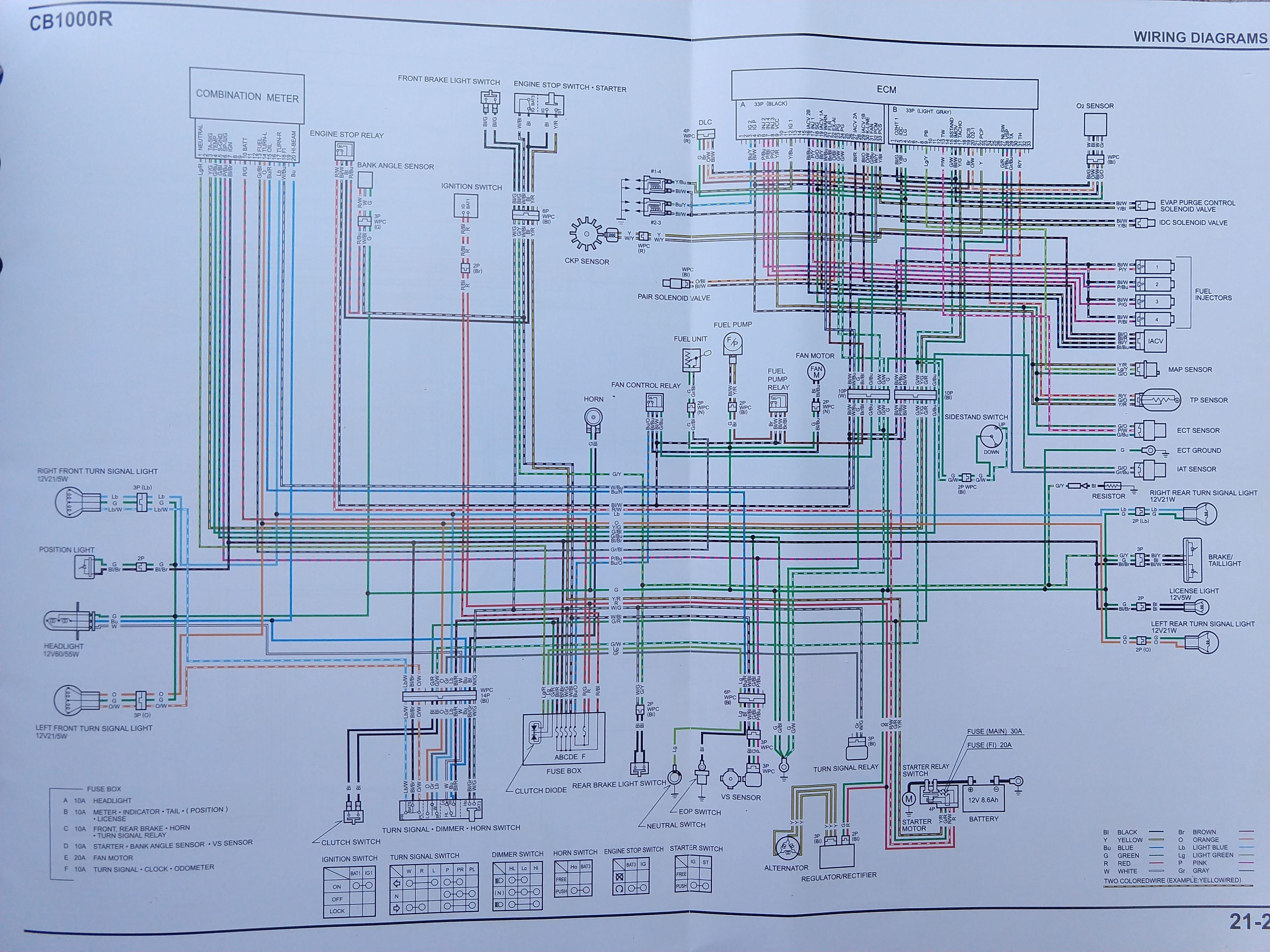 [SCHEMATICS_4NL]  CB1000R North American specific Wiring Diagram | Honda CB1000R Forum | Honda Cb1000 Wiring Diagram |  | Honda CB1000R Forum